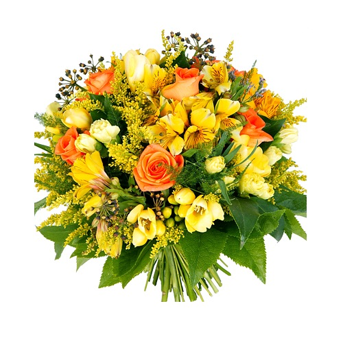 Thank You Deluxe Flower Bouquet