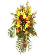 Seasonal Mixed Large Funeral Flower Spray