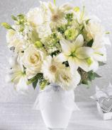 More than ever Mixed White Roses